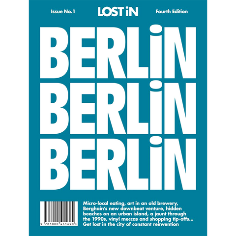 LOST IN BERLIN - BOOKS - DYKE & DEAN  - Homewares | Lighting | Modern Home Furnishings
