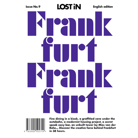 LOST IN FRANKFURT - BOOKS - DYKE & DEAN  - Homewares | Lighting | Modern Home Furnishings