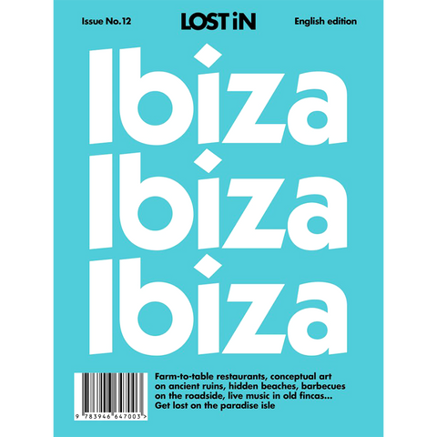LOST IN IBIZA - BOOKS - DYKE & DEAN  - Homewares | Lighting | Modern Home Furnishings