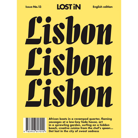LOST IN LISBON - BOOKS - DYKE & DEAN  - Homewares | Lighting | Modern Home Furnishings