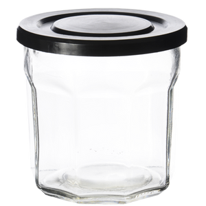 JAM JAR BLACK LID
