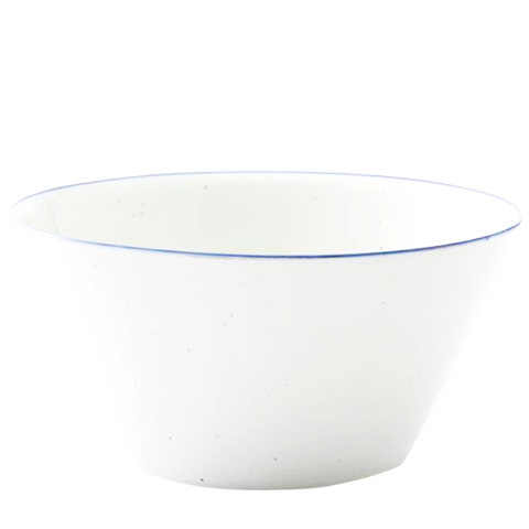PORCELAIN SPOTTED BOWL MEDIUM
