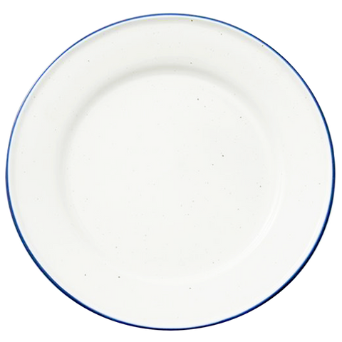 PORCELAIN SPOTTED DINNER PLATE