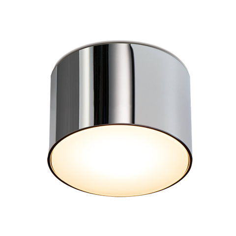CHROME FIXED CYLINDER LIGHT SMALL IP54