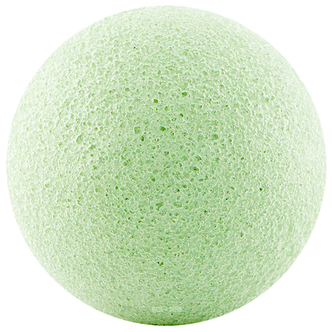 KONJAC SPONGE GREEN - BATHROOM - DYKE & DEAN  - Homewares | Lighting | Modern Home Furnishings
