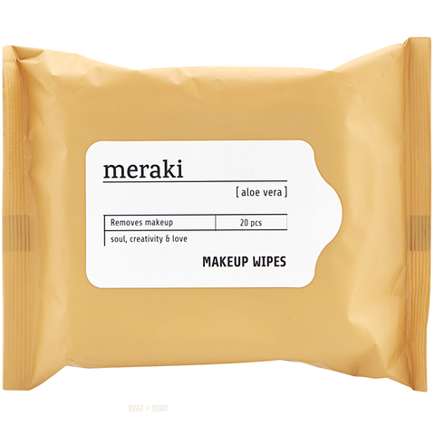 MERAKI MAKEUP REMOVING WIPES ALOE VERA - BATHROOM - DYKE & DEAN  - Homewares | Lighting | Modern Home Furnishings