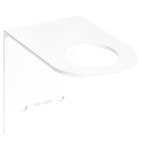 D&D SOAP PUMP WALL BRACKET WHITE - BATHROOM - DYKE & DEAN  - Homewares | Lighting | Modern Home Furnishings