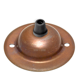BRONZE EFFECT MINI METAL CEILING ROSE