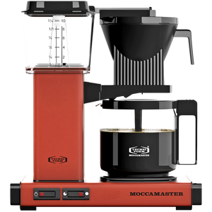 MOCCA MASTER COFFEE BREWER BRICK RED