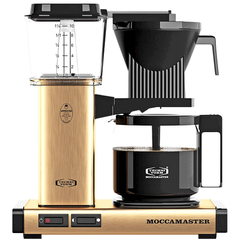 MOCCA MASTER COFFEE BREWER GOLD - KITCHENWARE - DYKE & DEAN  - Homewares | Lighting | Modern Home Furnishings