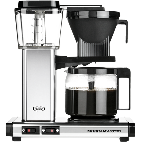 MOCCA MASTER COFFEE BREWER CHROME