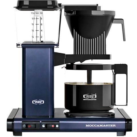 MOCCA MASTER COFFEE BREWER MIDNIGHT BLUE - KITCHENWARE - DYKE & DEAN  - Homewares | Lighting | Modern Home Furnishings