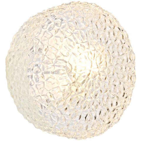 MOULDED GLASS WALL & CEILING LIGHT