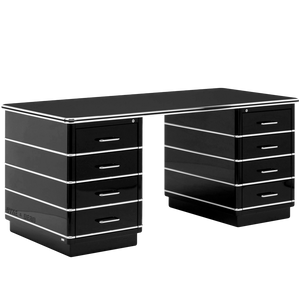 MULLER CHRYSLER DESK BLACK