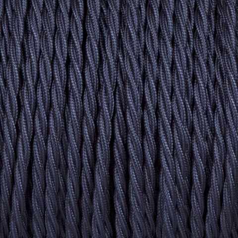 NAVY BLUE TWISTED FABRIC CABLE