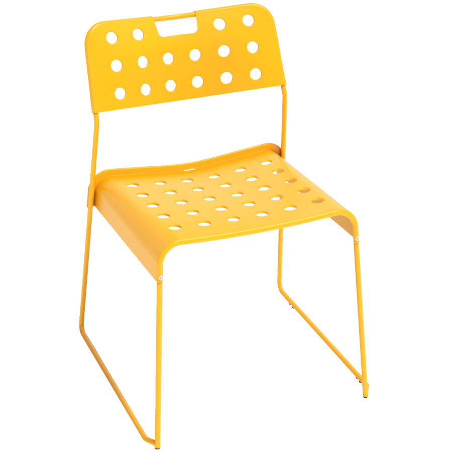 OMKSTAK. 1965 CHAIR YELLOW