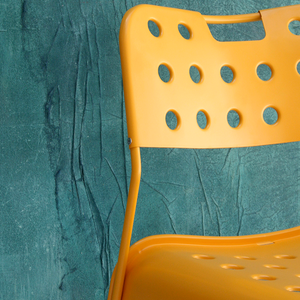 OMKSTAK. 1965 CHAIR TEAL