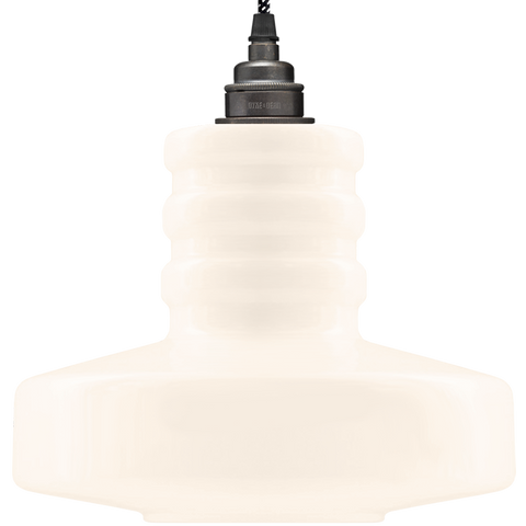 OPAL BOLT PENDANT SHADE MEDIUM - GLASS PENDANTS - DYKE & DEAN  - Homewares | Lighting | Modern Home Furnishings