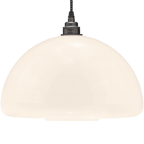 60s OPALINE GLASS PENDANT SHADE - GLASS PENDANTS - DYKE & DEAN  - Homewares | Lighting | Modern Home Furnishings
