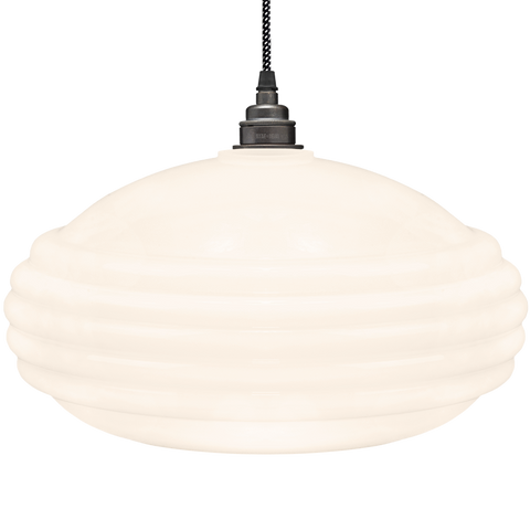 MEMPHIS OPALINE GLASS PENDANT SHADE - GLASS PENDANTS - DYKE & DEAN  - Homewares | Lighting | Modern Home Furnishings