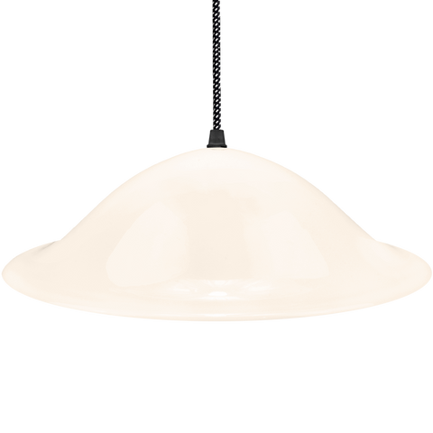 HALLWAY OPALINE GLASS PENDANT SHADE - GLASS PENDANTS - DYKE & DEAN  - Homewares | Lighting | Modern Home Furnishings