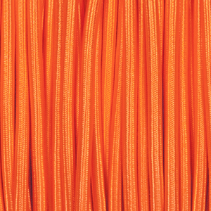 ORANGE ROUND FABRIC CABLE