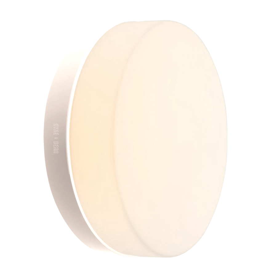 GENERAL OPAL DISC LIGHT SMALL WHITE