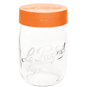 LE PARFAIT ORANGE TOP JAR 2.0L - KITCHENWARE - DYKE & DEAN  - Homewares | Lighting | Modern Home Furnishings