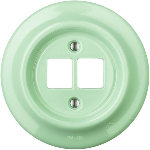 PORCELAIN WALL SOCKET MINT PC/USB