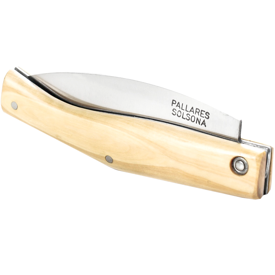 PALLARES BUSA WOOD FOLDING POCKET KNIFE 8cm