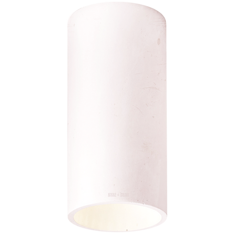 CONCRETE CYLINDER CEILING LIGHT PINK