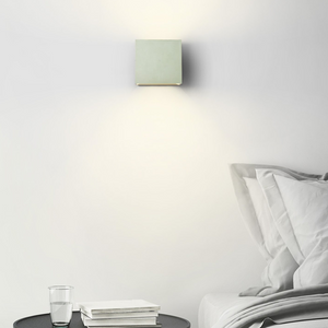 CONCRETE WALL LAMP SAGE GREEN