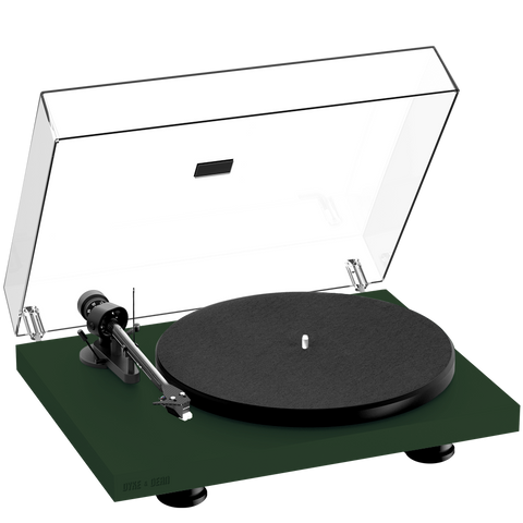 PRO-JECT DEBUT CARBON EVO TURNTABLE GREEN - HOMEWARE - DYKE & DEAN  - Homewares | Lighting | Modern Home Furnishings