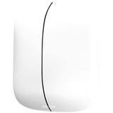 SQUARE PORCELAIN WALL DOUBLE ROCKER SWITCH WHITE