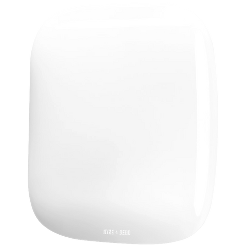 SQUARE PORCELAIN WALL ROCKER SWITCH WHITE