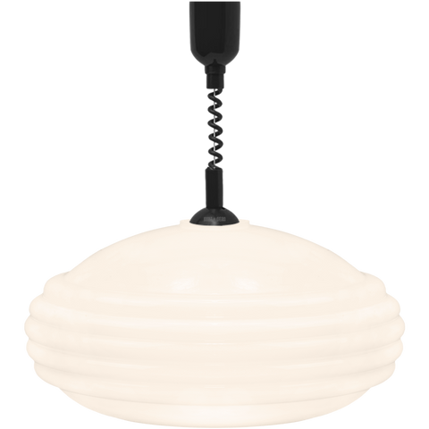 MEMPHIS OPALINE RETRACTABLE CORD LIGHT - GLASS PENDANTS - DYKE & DEAN  - Homewares | Lighting | Modern Home Furnishings