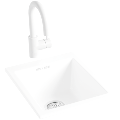 CERAMIC RECESSED SINK
