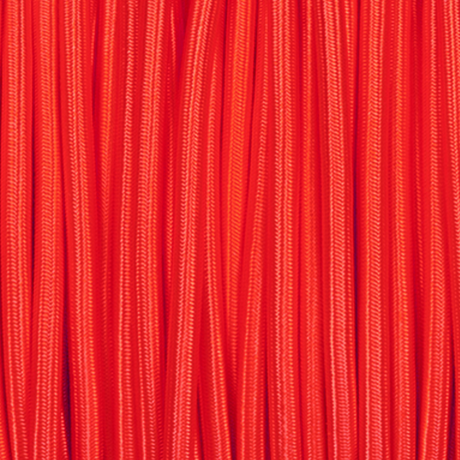 RED ROUND FABRIC CABLE