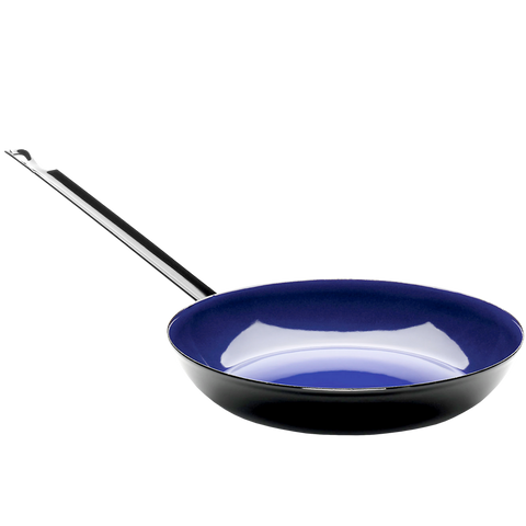 RIESS ENAMEL FRYING PANS