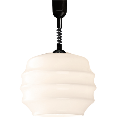 RIPPLE OPALINE RETRACTABLE CORD LIGHT SMALL