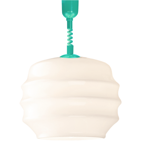 RIPPLE OPALINE RETRACTABLE CORD LIGHT MEDIUM