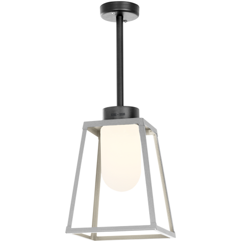 OUTDOOR CEILING LANTERN FROSTED GLASS