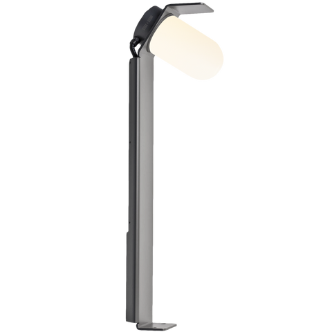 ANGLED DIFFUSER BOLLARD PATH LAMP FROSTED GLASS - BATHROOM / OUTDOOR LIGHTS - DYKE & DEAN  - Homewares | Lighting | Modern Home Furnishings