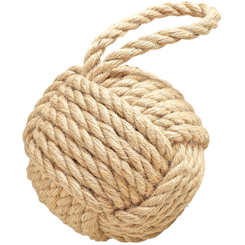KNOTTED ROPE DOORSTOP