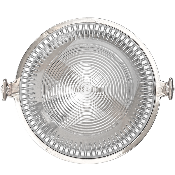 ROUND CHROME WALL AND CEILING LAMP