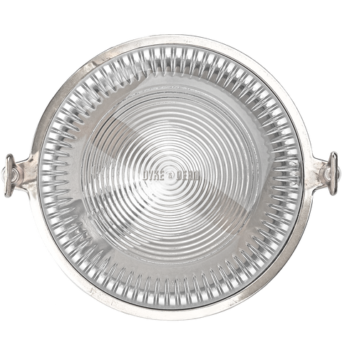ROUND CHROME WALL AND CEILING LAMP - BATHROOM / OUTDOOR LIGHTS - DYKE & DEAN  - Homewares | Lighting | Modern Home Furnishings