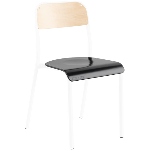 TUBULAR D&D CHAIR BEECHWOOD / BLACK
