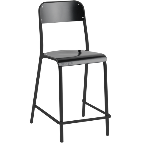 TUBULAR D&D CHAIR STOOL BLACK
