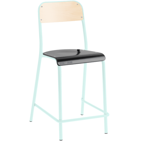 TUBULAR D&D CHAIR STOOL BEECHWOOD / BLACK