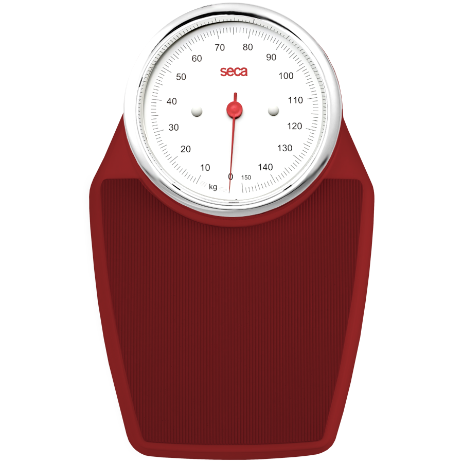 SECA 760 RED BATHROOM SCALES